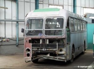 Former Southern Vectis 315 (PDL515) is seen in the isle of Wight Bus & coach Museum © Adrian Hill