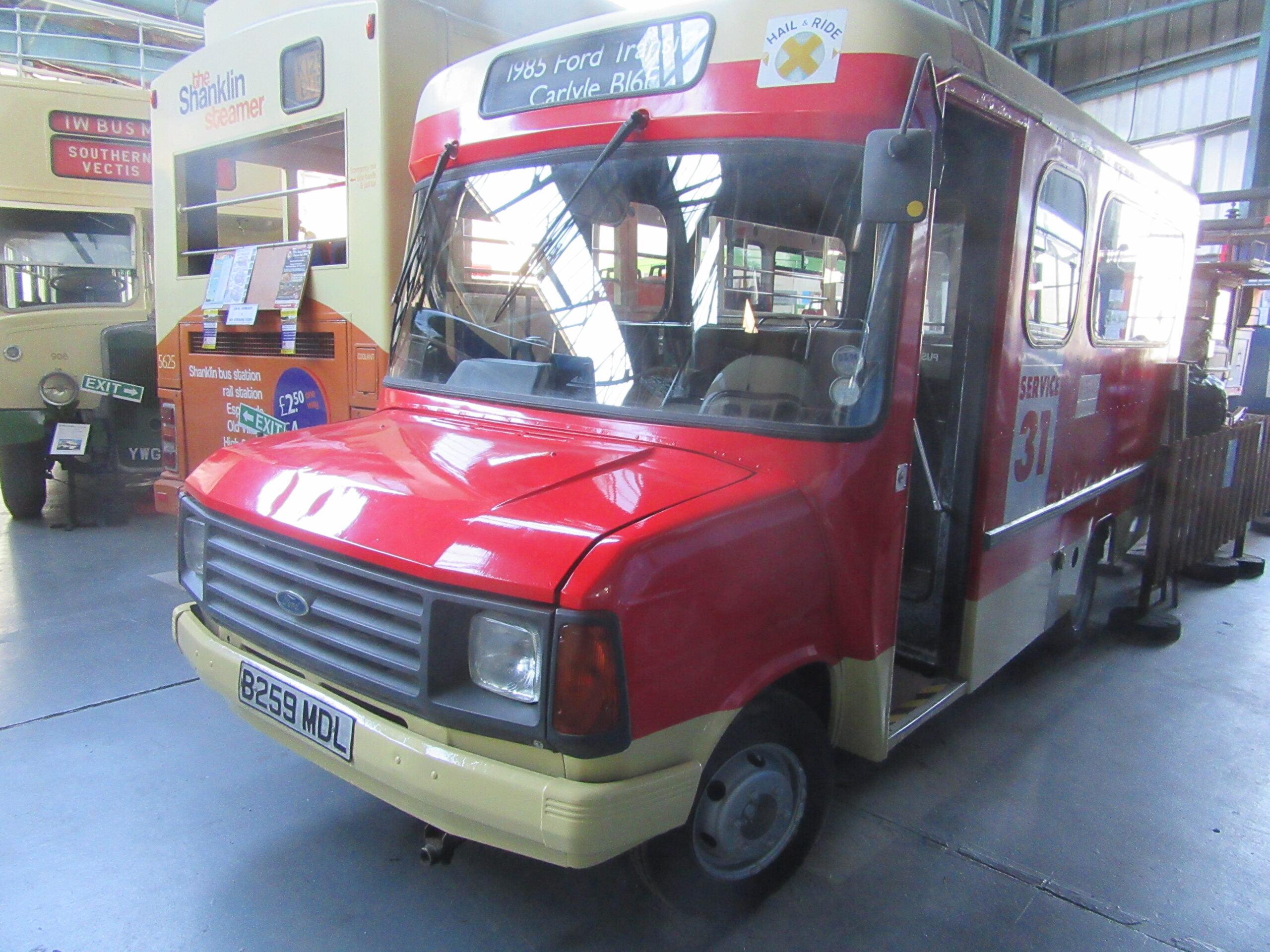 1984 Ford Transit – 259 – B259 MDL