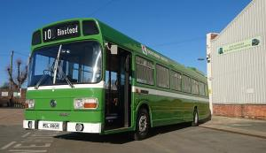 leyland national 880 returns to isle of wight bus and coach museum