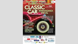 Ryde Classic car show poster 2019
