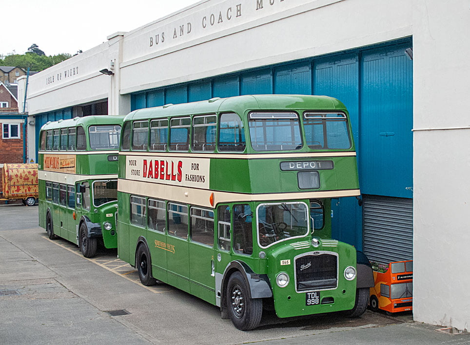 Become a member of Isle of Wight Bus and Coach Museum