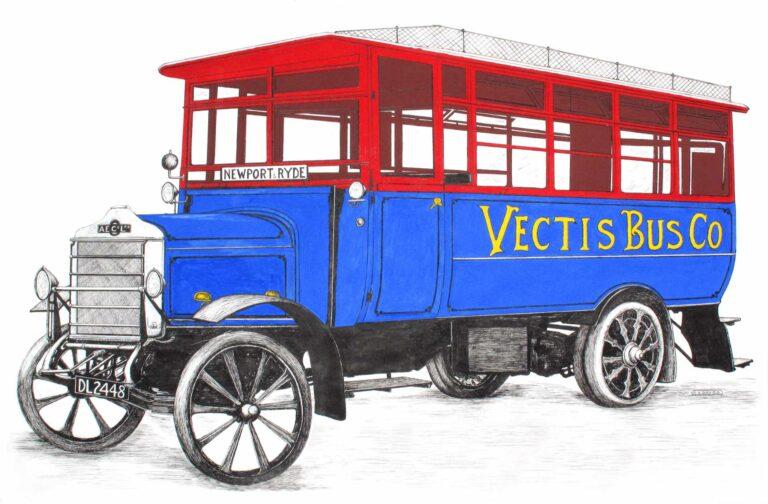 Isle of Wight Bus Museum celebrates centenary of Vectis Bus Company